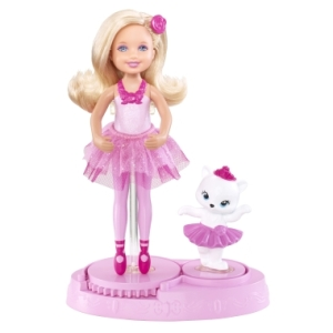 BARBIE™ IN THE PINK SHOES CHELSEA® Ballerina Doll njj