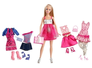 Exclusive-Barbie-KidPicks-Fashion-Doll-Clothing-Set-Party-Time-Barbie