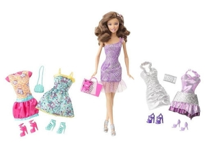 Exclusive-Barbie-KidPicks-Fashion-Doll-Clothing-Set-Party-Time-Teresa