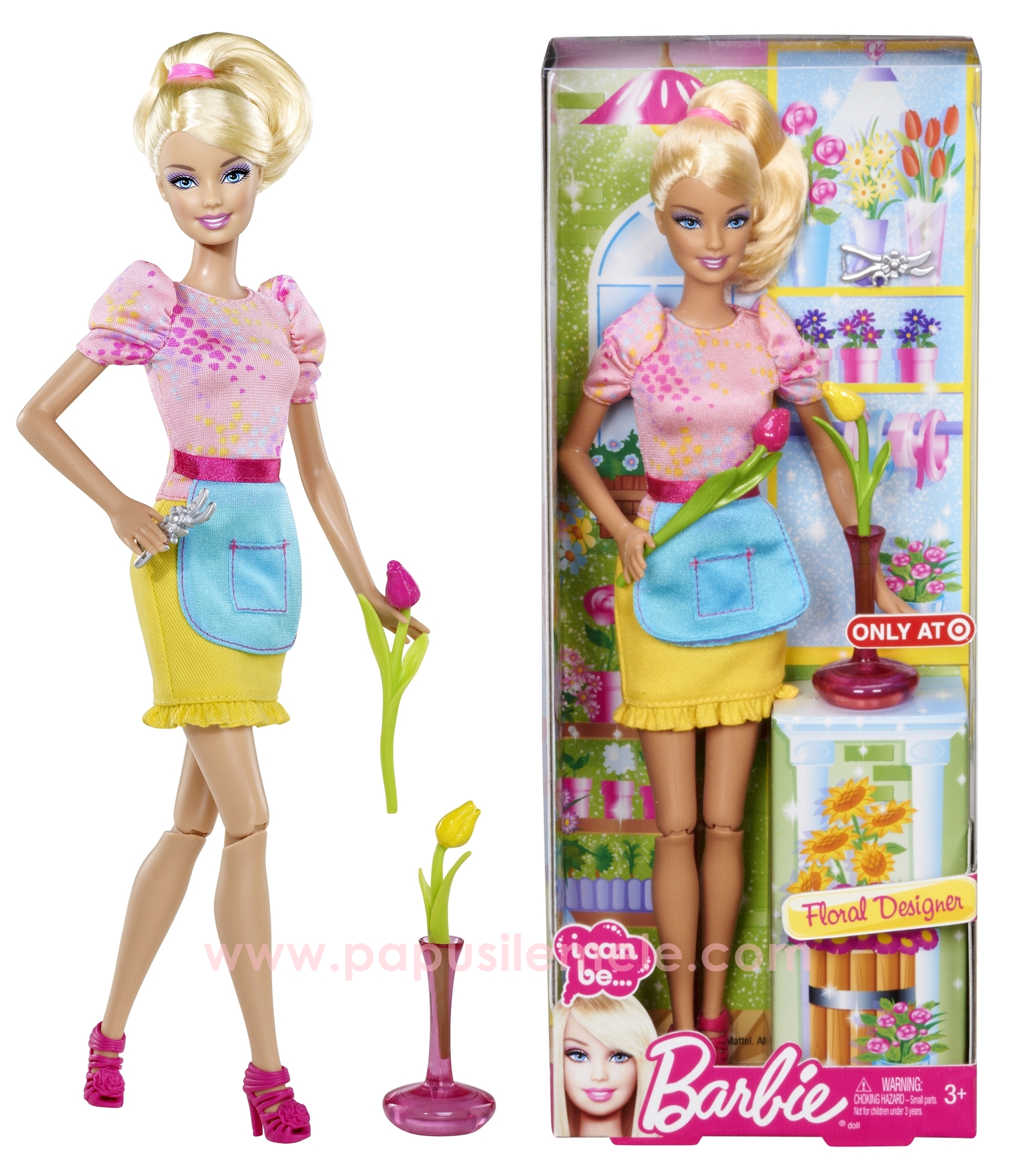 Pin Barbie I Can Be Giornalista Mattel T2692 on Pinterest