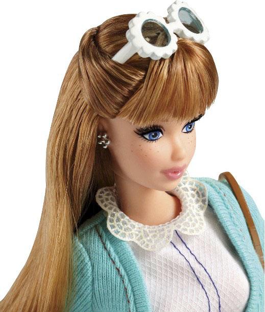 Barbie Glam Luxe Style Segundo Wave 2014 Barbie Girl Collectible