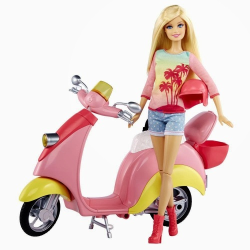 Barbie-Real-Scooter-com-Boneca