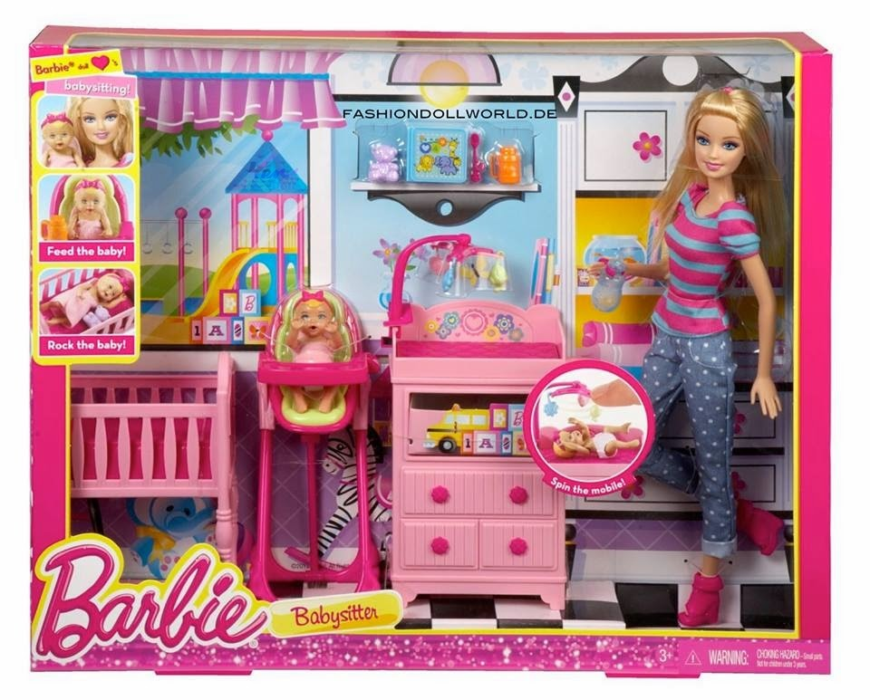 barbie babysitter