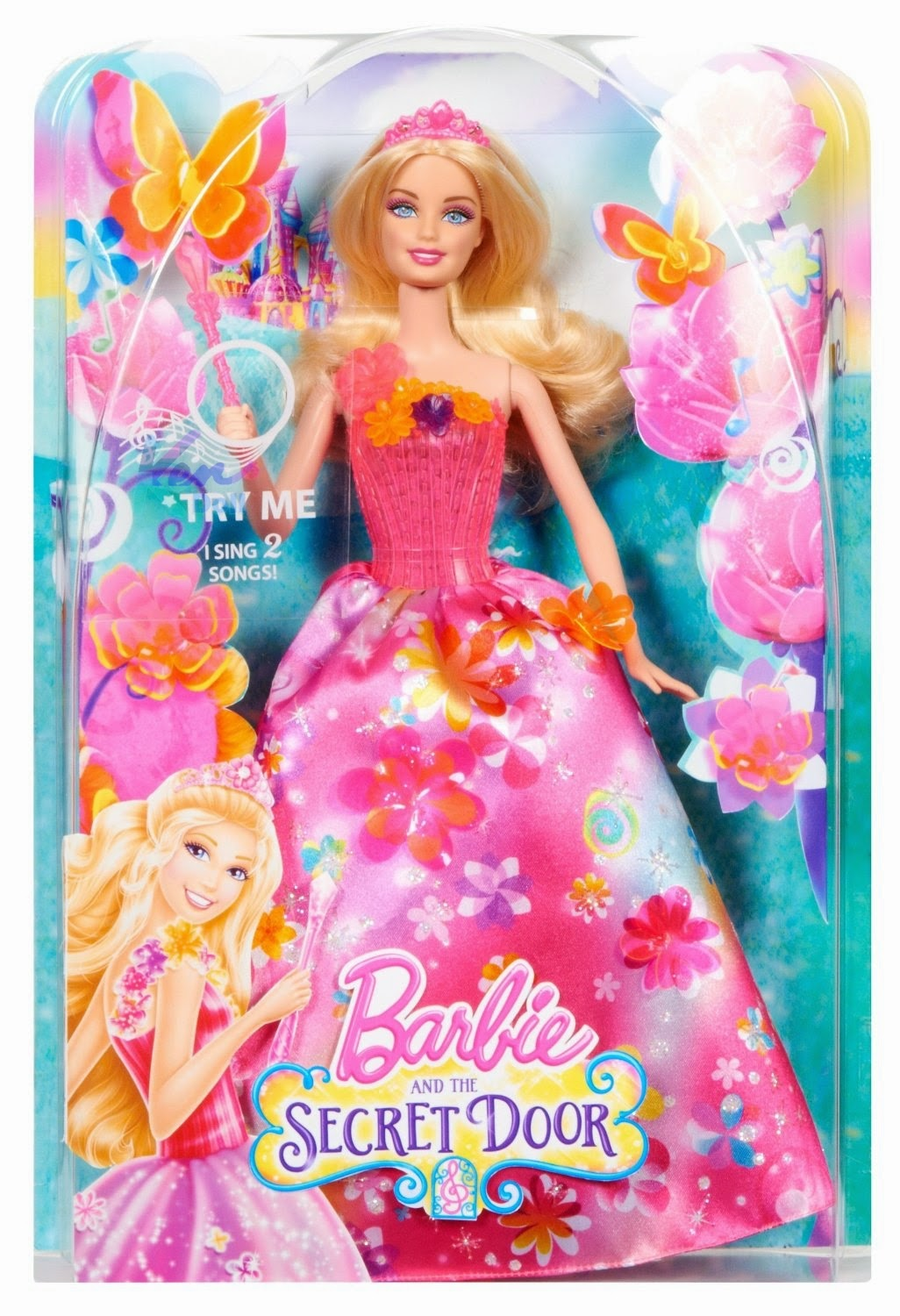 Barbie and the secret door 2014 doll box