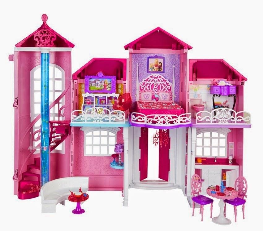 Casa dos sonhos da barbie 2014 barbie girl collectible for Casa di barbie malibu