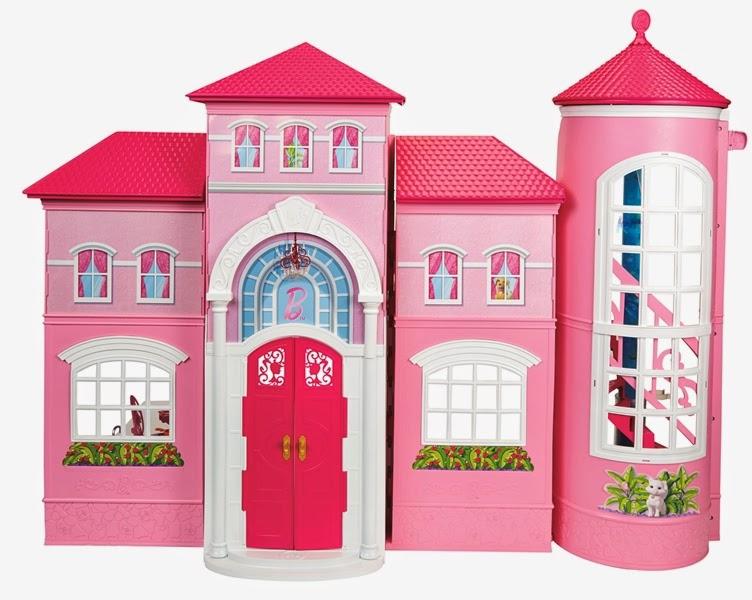 Casa dos sonhos da barbie 2014 barbie girl collectible for Casa barbie malibu
