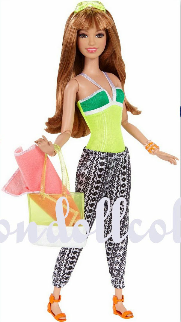 Barbie Style Glam Vacation 2015 Barbie Girl Collectible