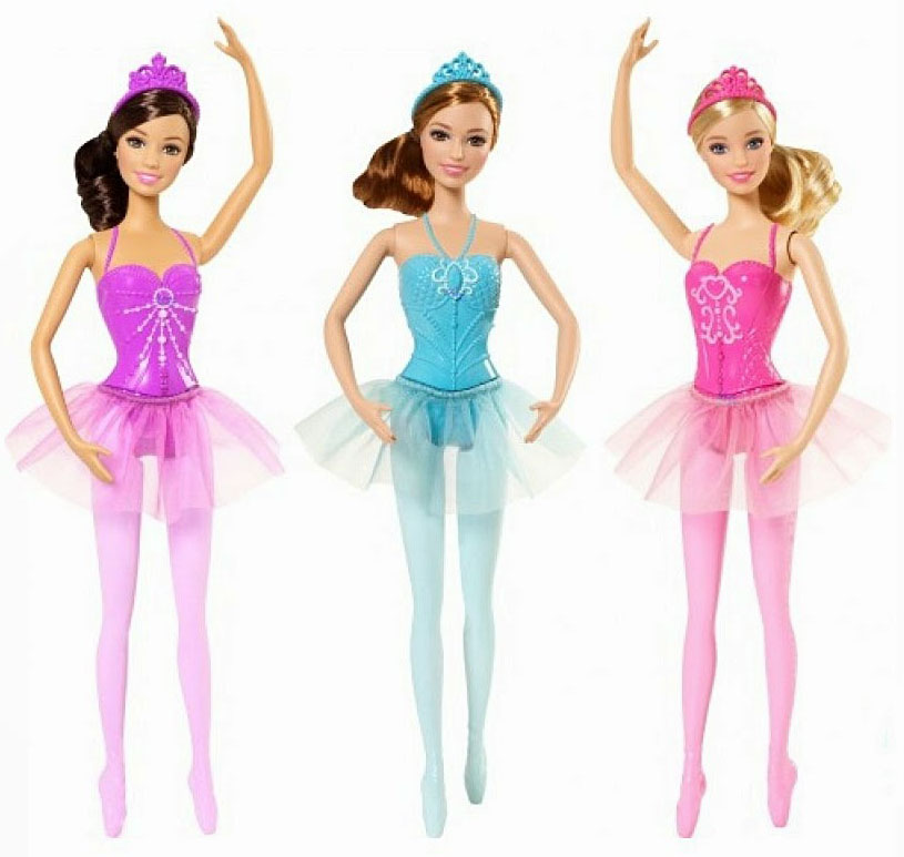Novidades playline 2015 barbie girl collectible - Barbie ballerine ...