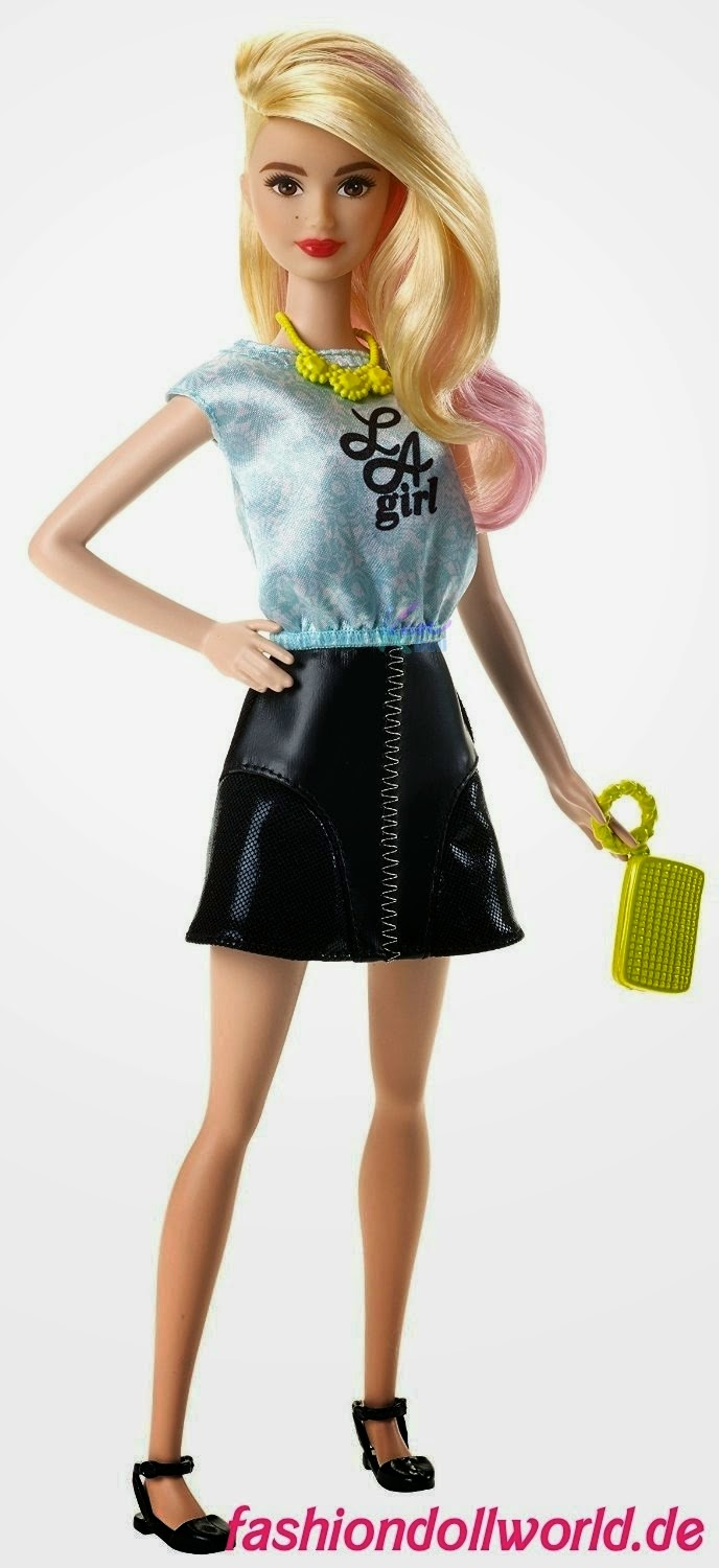 Barbie Fashionistas 2015 Rosa Barbie Fashionistas Nova