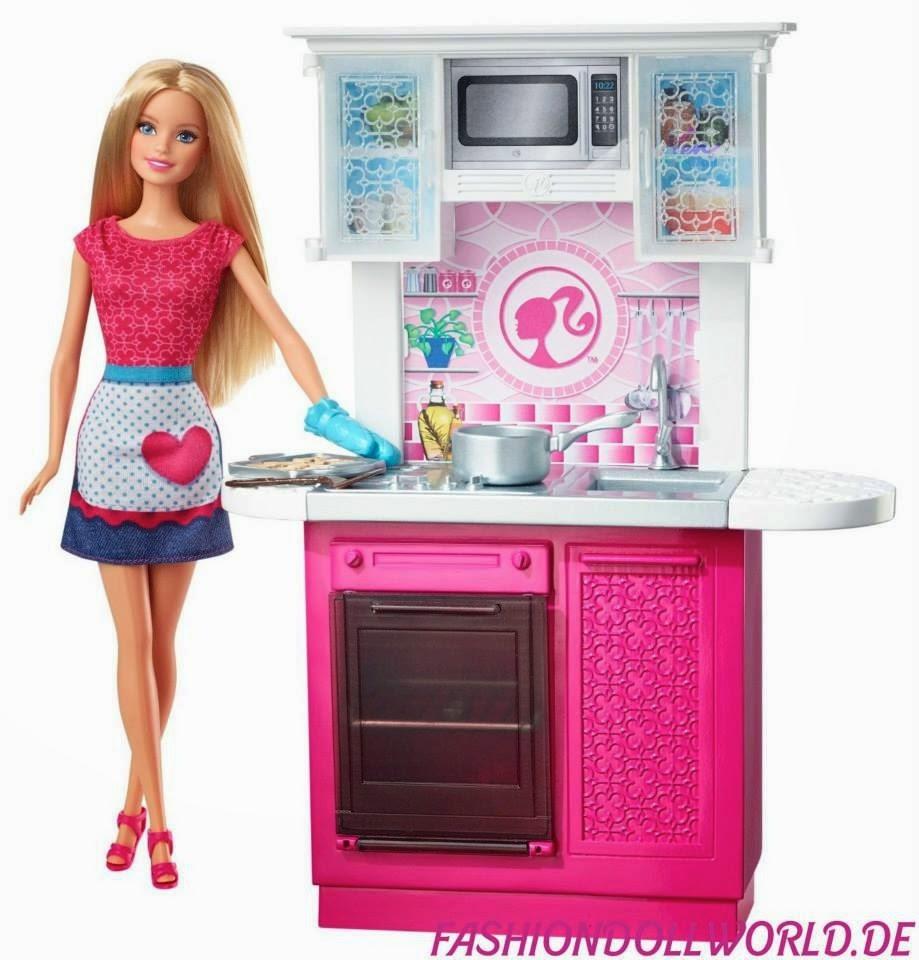 Barbie m veis cozinha barbie girl collectible - Shop on line casa ...