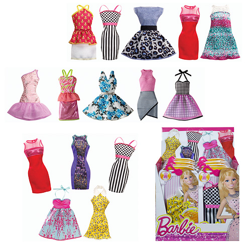 Barbie-Fashion-Dress-Doll-Accessory-Case