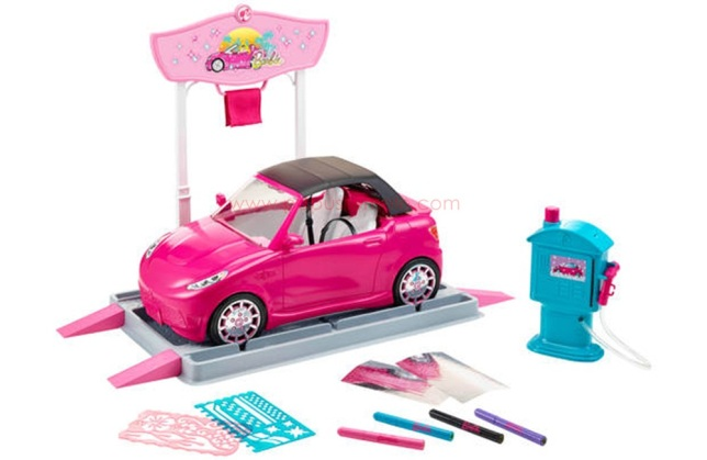 Barbie-Vehicle-Car-Wash-Design-Studio