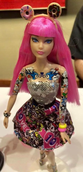 TokiDoki-Barbie-2015-convention