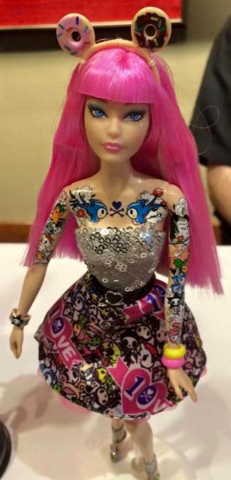 TokiDoki-Barbie-2015-convention