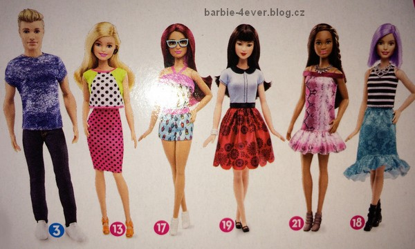 barbie fashionista 2016